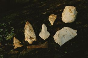 Examples of projectile points that predate Clovis culture from a site in South Carolina