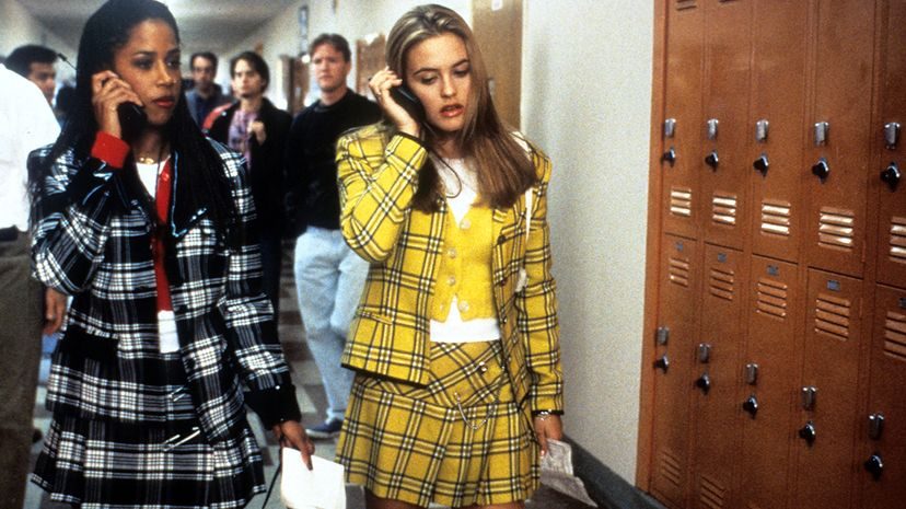 In the 1995 film 'Clueless,' Stacey Dash and Alicia Silverstone played popular high school girls — hubs of their social networks. Paramount Pictures/Getty Images