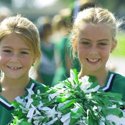 Coaching for a Pop Warner cheerleading squad can be rewarding.