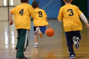 Basketball Image Gallery Coaching youth basketball helps kids stay active, but it also teaches them important social skils. See more basketball pictures.