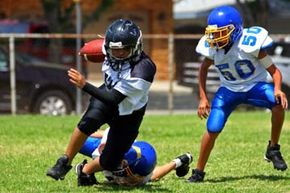 Maintaining discipline may be one of your toughest challenges as a coach. See more football pictures.