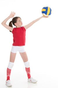 Volleyball is one of the most popular sports in the world. See more sport pictures.