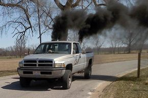 Rolling coal (as a non-motorsports hobby) is a deliberate attempt to pollute the environment and waste fuel.