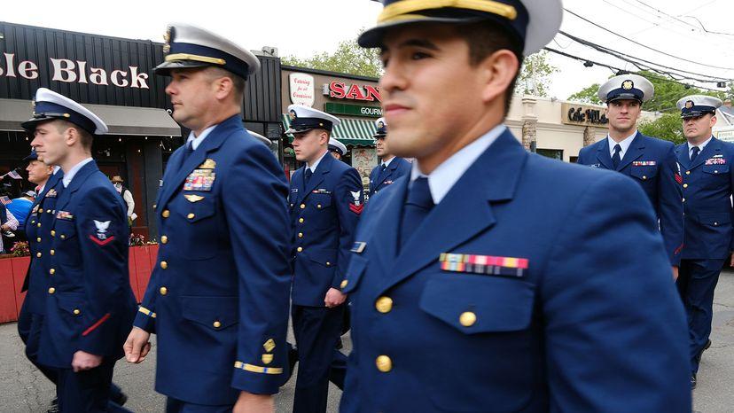 U.S. Coast Guard, Memorial Day Parade