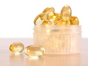 What promising health benefits do these cod liver oil capsules hold?