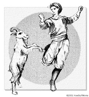 The legend of coffee begins with a goatherd and his dancing goat.
