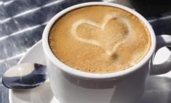 This cup of coffee may stimulate your digestive tract.
