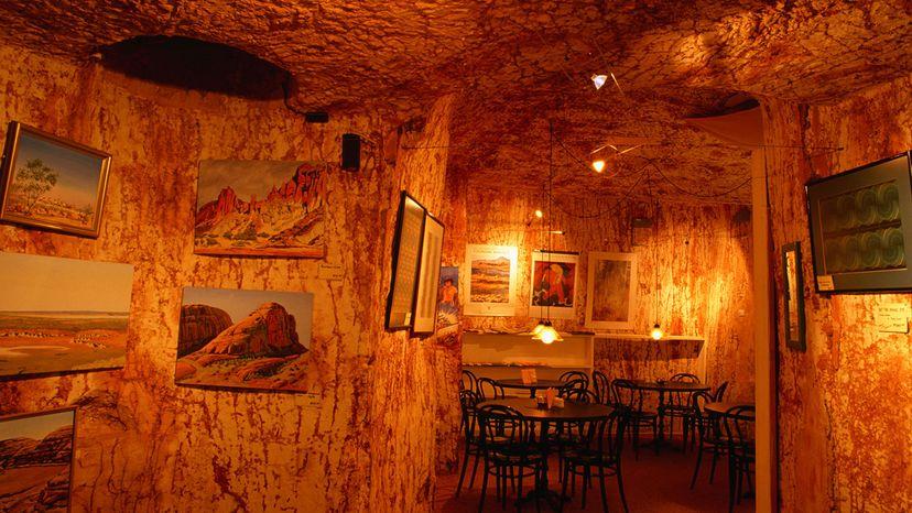 Coober Pedy restaurant