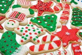 Decorating cookies for the holidays is a great activitiy to do with the whole family. See more holiday baked goods pictures.