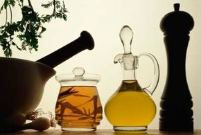 Heart-healthy olive oil comes in several different varieties.