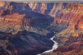 The Colorado River, winding through Grand Canyon National Park, was the setting of the Hyde disappearance.