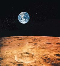 No one lives on the moon...yet.