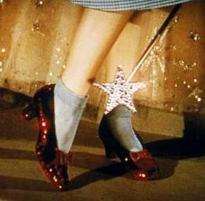 Dorothy's ruby slippers wouldn't have been the same in black-and-white.