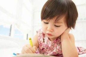 For a child with color vision deficiency, crayons without wrappers are useless.