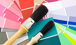 Utilize different colors from the spectrum to emphasize different areas of your home.