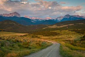 The Colorado Trail system covers nearly half of its state.
