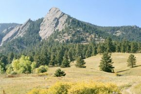 As you can see from the view, you'll need some help if you want to make it to a camping site on the Colorado Trail.