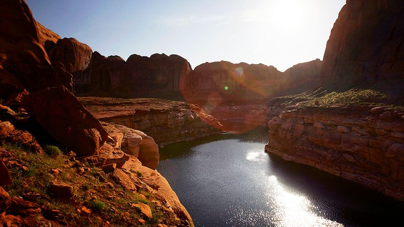 Activists have brought suit in federal court, aiming to grant the Colorado River the same legal rights as a person. David McNew/Getty Images