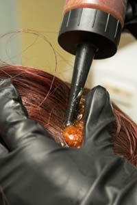 If you color your hair properly, the dye won't damage your scalp. See more pictures of personal hygiene practices.