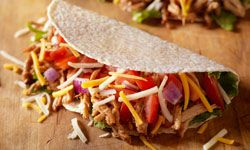 You may want to skip the salted, dried meat for your Columbus Day celebration and cut straight to the tacos.