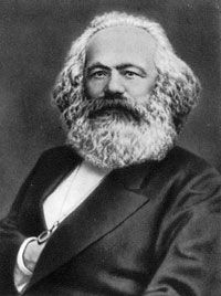 Karl Marx, the father of communism
