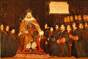 """King Henry VIII, originator of the phrase """"all intents and purposes."""""""