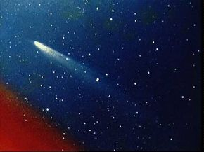 Comet Kohoutek appears in this image taken by members of the lunar and planetary laboratory photographic team from the University of Arizona at the Catalina Observatory on Jan, 11, 1974. See more comet pictures.