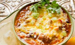 Chili is easy to whip up in large batches.