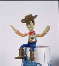 """Animators will build molds to animate a character's movement like this one created for """"Toy Story."""""""
