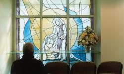 Many hospitals include chapels or places of worship for patients and families.