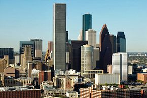 Runners who complete the 10K race will be treated to a scenic view of downtown Houston.