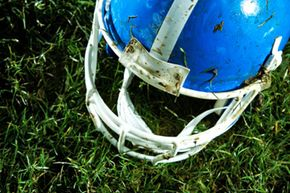 Protective headgear can help mitigate the impact of collisions and reduce the risk of concussion.