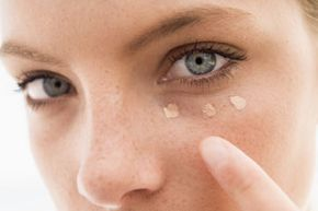 You might have to try different concealer shades to find one that looks natural.