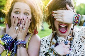 Teens will be teens. Don't let the chatter of fellow concertgoers ruin your night.
