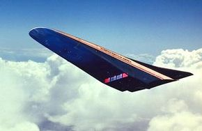 One concept of the National Aerospace Plane