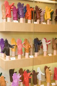 Whether red, yellow, blue or green, you have to have a heavy-duty pair of gloves on when working with concrete.