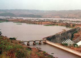 One of the Inga dams, languishing in a state of disrepair.