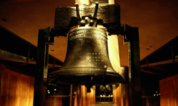 """The single """"N"""" spelling of Pennsylvania even made it on the Liberty Bell."""