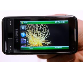 The Samsung Omnia wowed crowds at the 2009 Mobile World Congress in Barcelona, Spain. See more cell phone pictures.