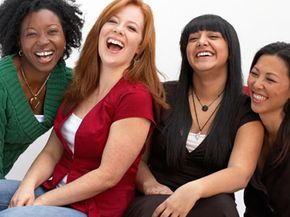 You're more likely to find your funny bone tickled in a group of people.