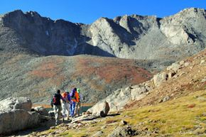 When you're hiking the Continental Divide Trail, your focus probably isn't on the trail itself -- it's on the surrounding landscape and views.