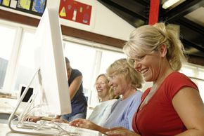 Continuing education classes can be classroom or Web-based.