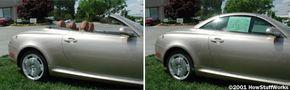 The Lexus SC430
