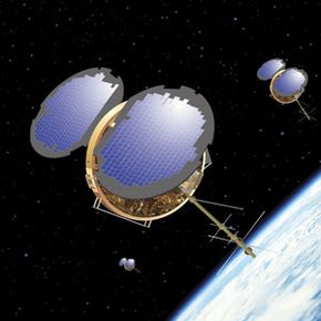 COSMIC is made up of a constellation of six microsatellites, the first to use radio occultation.