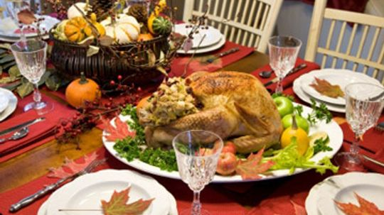 What's the average cost of a Thanksgiving meal?
