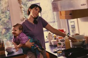 Spending more time with their children as they grow up is a desire of 48 percent of working moms.