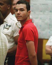 Eddie Seda, the Zodiac copycat killer, is arraigned in Brooklyn in 1996.