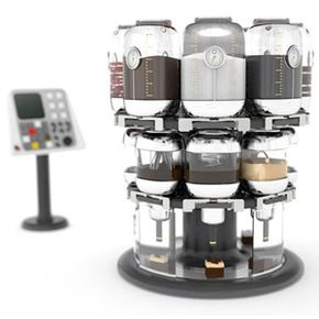 With the Virtuoso Mixer, users can experiment with a variety of ingredients to find their favorite combinations.