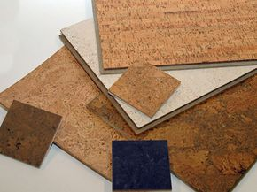 Cork flooring can give you as much variety in colors and patterns as other flooring options. See more green living pictures.