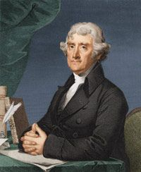 During the framing of the Constitution, Thomas Jefferson wanted language that restricted corporations added to the document. His ideasdidn't make it.